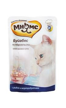 """Мнямс - Паучи для кошек """"Буйабес по-марсельски"""" (рыба с морепродуктами) - фото 15436"""