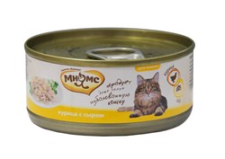 Мнямс - Консервы для кошек (курица с сыром в нежном желе) - фото 15805