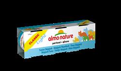 Almo Nature - Низкокалорийные консервы для кошек (c Полосатым Тунцом) Набор 3 шт. по 50 г Classic Light Cat Skipjack Tuna - фото 15885