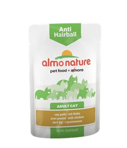 Almo Nature - Паучи для вывода шерсти у кошек (с курицей) Functional Anti-Hairball with Chicken - фото 15910