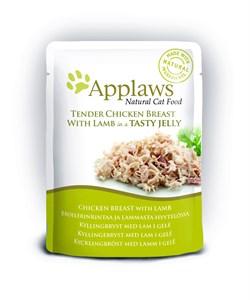 "Applaws - Паучи для кошек ""Кусочки курицы с ягненком в желе"" Cat Pouch Chicken with Lamb in Jelly - фото 15994"