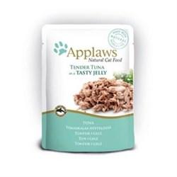 "Applaws - Паучи для кошек ""Кусочки тунца в желе"" Cat Pouch Tuna Whole Meat in Jelly - фото 15995"