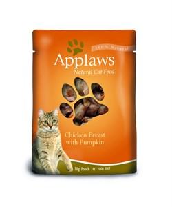 Applaws - Паучи для кошек (с курицей и тыквой) Cat Pouch Chicken and Pumpkin - фото 16003