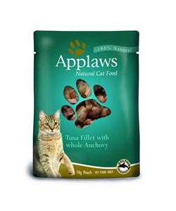 Applaws - Паучи для кошек (с тунцом и анчоусами) Cat Pouch Tuna and Anchovy - фото 16004
