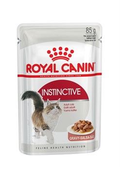 Royal Canin - Паучи для взрослых кошек (в соусе) INSTINCTIVE - фото 16259
