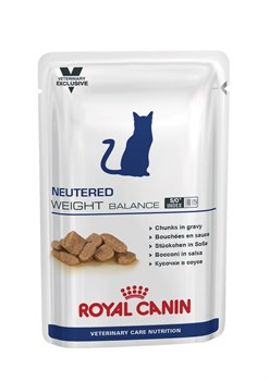 """Royal Canin (вет. диета) - Паучи для стерилизованных кошек """"Контроль веса"""" NEUTERED WEIGHT BALANCE - фото 16286"""