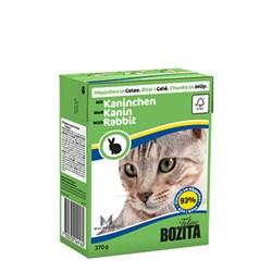 BOZITA - Консервы для кошек (кусочки в желе с кроликом) Tetra Pak Feline Rabbit - фото 16298