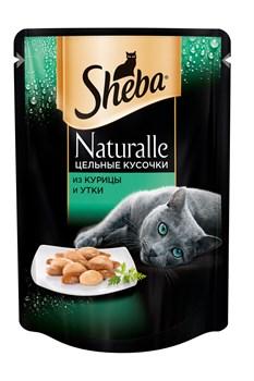 Sheba - Паучи для кошек (с курицей и уткой) Naturalle - фото 16387