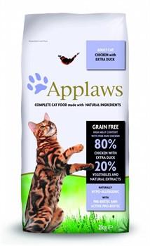 Applaws - Сухой корм беззерновой для кошек (с курицей, уткой и овощами) Dry Cat Chicken with Duck - фото 16432