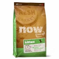 NOW Natural Holistic - Сухой корм беззерновой для котят (с индейкой, уткой и овощами) Fresh Grain Free Kitten Recipe - фото 16435
