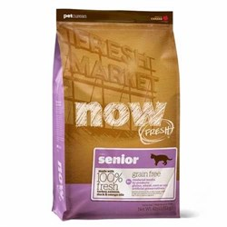"""NOW Natural Holistic - Сухой корм беззерновой для кошек """"Контроль веса"""" (с индейкой, уткой и овощами) Fresh Grain Free Senior Cat Recipe - фото 16464"""