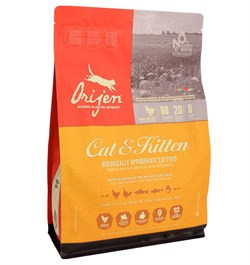 Orijen - Сухой беззерновой корм для кошек Cat&Kitten - фото 16521