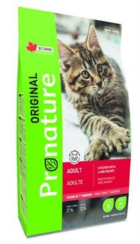 Pronature Original - Сухой корм для кошек (с курицей и ягненком) - фото 16610