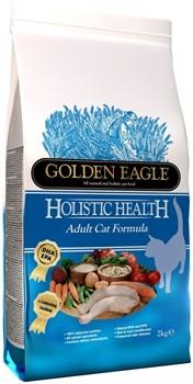 Golden Eagle - Сухой корм для взрослых кошек 32/21 Holistic Adult Cat - фото 16806