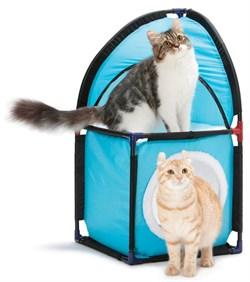"""Kitty City - Домик для кошек Место встречи """"Kitty Corner"""", 72*36*36см - фото 16856"""