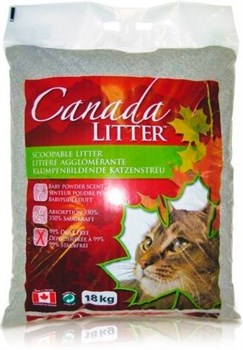 "Canada Litter - Наполнитель комкующийся ""Запах на замке"" для кошек (аромат детской присыпки) Scoopable Litter - фото 16871"