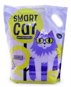 Smart Cat - Наполнитель силикагелевый для кошек (с ароматом лаванды) - фото 16872