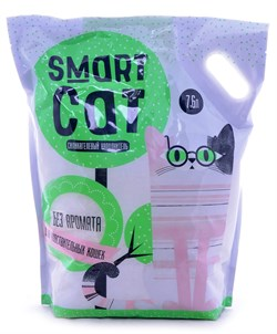 Smart Cat - Наполнитель силикагелевый для чувствительных кошек (без аромата) - фото 16880