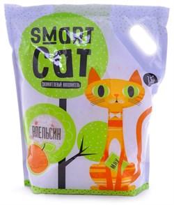 Smart Cat - Наполнитель силикагелевый для кошек (с ароматом апельсина) - фото 16888