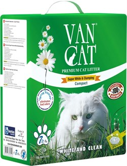 Van Cat - Наполнитель комкующийся для кошек (идеальные комочки) Vancat Ultra Clumping - фото 16891