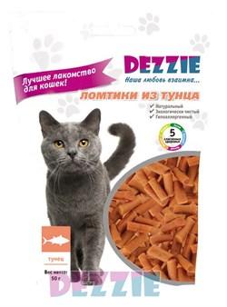 Dezzie - Лакомство для кошек (ломтики из тунца) - фото 17053
