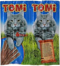 Tomi - Палочки для кошек 6 шт (с лососем и форелью) - фото 17071