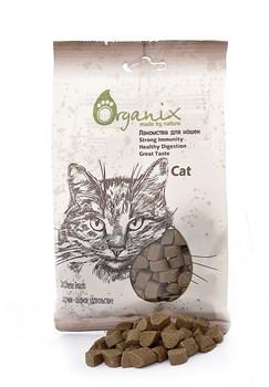 """Organix - Лакомства для кошек """"Сердечки - сырное удовольствие"""" Cat Cheese Snacks - фото 17083"""