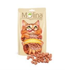 """Molina - Лакомство для кошек """"Куриные кусочки"""" - фото 17118"""