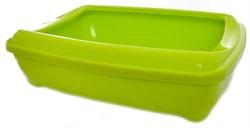 Moderna - Туалет-лоток большой с рамкой  artist large + rim, 49х37х13 лимонно-желтый - фото 17143