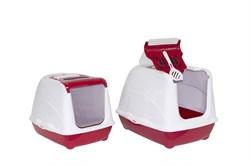 Moderna - Туалет-домик  Jumbo с угольным фильтром, 57х44х41см, терракотовый - фото 17144