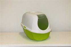 Moderna - Туалет-домик SmartCat с угольным фильтром, 54х40х41см, лимонно-желтый - фото 17152