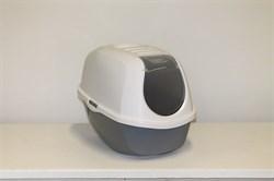 Moderna - Туалет-домик SmartCat с угольным фильтром, 54х40х41см, серый - фото 17168