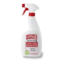 Nature's Miracle - Спрей - Уничтожитель пятен и запахов для кошек Stain&Odor Remover - фото 17262