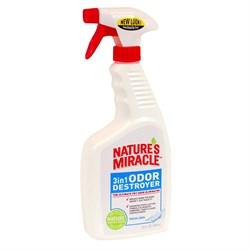 8in1 - Уничтожитель запахов с ароматом свежего белья (спрей) NM 3in1 Odor Destroyer - фото 17274