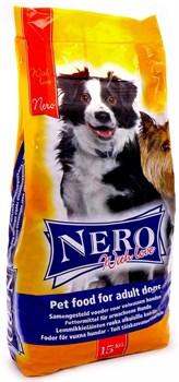 Nero Gold Super Premium - Сухой корм для взрослых собак всех пород (мясной коктейль) Nero Croc Economy with Love Adult Dog - фото 17325