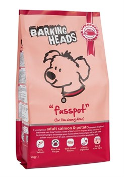 "Barking Heads - Сухой корм для собак ""Суета вокруг миски"" (с лососем и картофелем) Fusspot (Salmon & Potato Adult) - фото 17326"