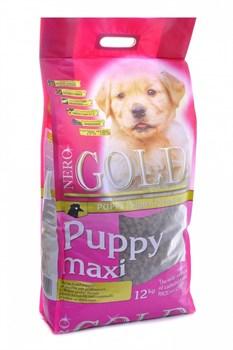 Nero Gold Super Premium - Сухой корм для щенков крупных пород (курица с рисом) Puppy Maxi Chicken & Rice - фото 17363