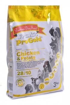 Frank's ProGold - Сухой корм для собак беззерновой (с курицей и молодым картофелем) Chicken&Potato - фото 17365
