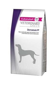 Eukanuba - Сухой корм ветеринарная диета для собак при воспалительных заболеваниях кожи (рыба) Veterinary Diets Dog Dermatosis FP - фото 17366