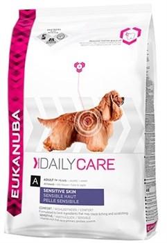 Eukanuba - Сухой корм для собак с чувствительной кожей (рыба) Daily Care Adult Dog Sensitive Skin - фото 17393