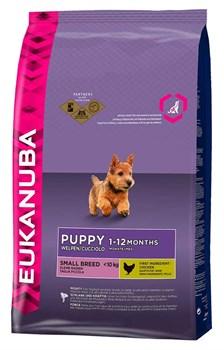 Eukanuba - Сухой корм для щенков мелких пород (курица) Dog Puppy & Junior Small Breed - фото 17397