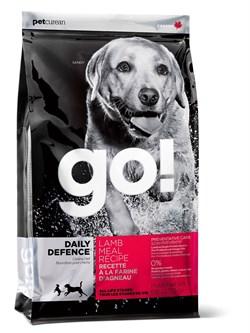 GO! Natural Holistic - Сухой корм для щенков и собак (со свежим ягненком) Daily Defence Lamb Meal Recipe - фото 17399