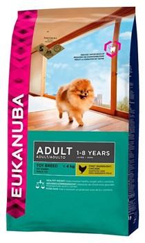 Eukanuba - Сухой корм для взрослых собак миниатюрных пород (курица) Dog Adult Toy Breed - фото 17400