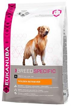 Eukanuba - Сухой корм для собак породы голден ретривер (курица) Breed Specific Golden Retriever - фото 17402
