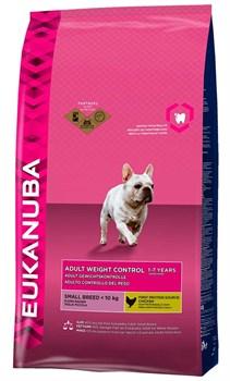 Eukanuba - Сухой корм для взрослых собак средних пород для контроля веса (курица) Dog Adult Weight Control Medium Breed - фото 17403