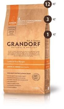Grandorf - Сухой корм для юниоров (ягнёнок с рисом) Junior All Breed Lamb & Rice Recipe - фото 17415
