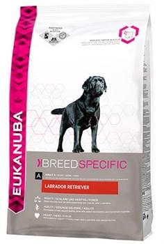 Eukanuba - Сухой корм для собак породы лабрадор-ретривер (курица) Breed Specific Labrador Retriever - фото 17418