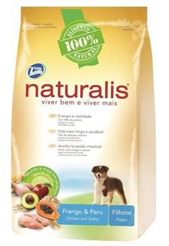 Naturalis Total Alimentos - Для щенков с курицей, индейкой, коричневым рисом, папайей и яблоком Naturalis Puppies Turkey and Chicken - фото 17428