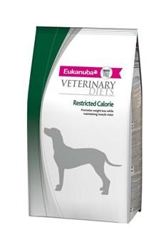Eukanuba - Сухой корм ветеринарная диета для собак при ожирении (курица) Veterinary Diets Dog Restricted Calorie - фото 17445