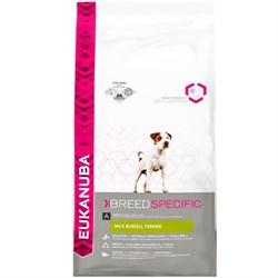 Eukanuba - Сухой корм для собак породы джек-рассел-терьер (курица) Breed Specific Jack Russell Terrier - фото 17475